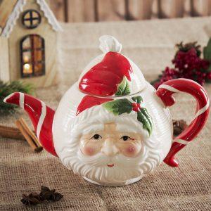 Dzbanek ceramiczny do kawy i herbaty Mikołaj