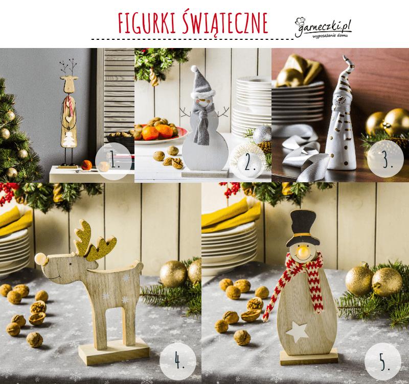 Figurki świąteczne- fajne prezenty na mikołajki do 30 zł
