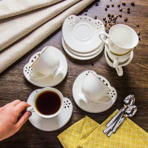 Zestaw filiżanek ceramicznych Florina
