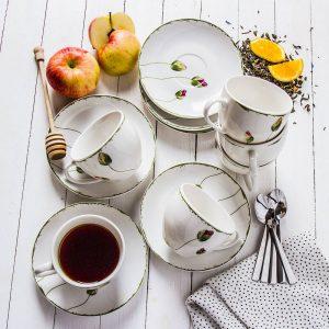 Filiżanki do kawy i herbaty Florina