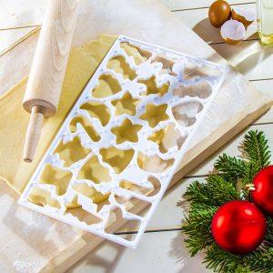 Forma d wykrawania ciastek i pierników plastikowa La Cucina