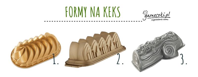Formy na keks świąteczne
