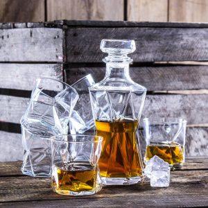 Karafka szklana do whisky Bormioli Rocco