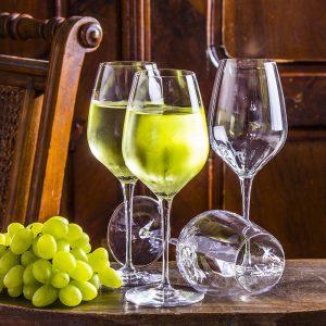 Kiliszki do białego wina szklane Bormioli Rocco