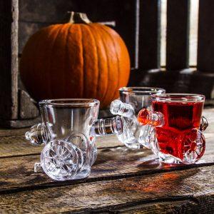 Kieliszki do wódki szklane Armatki