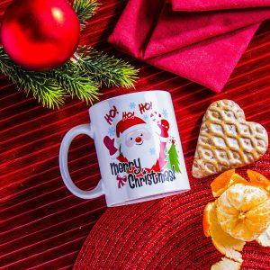 Kubek ceramiczny Boss Mikołaj