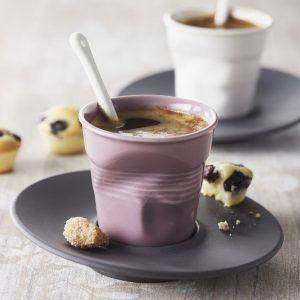 Kubekd o espresso porcelanowy Revol Jasnoróżowy