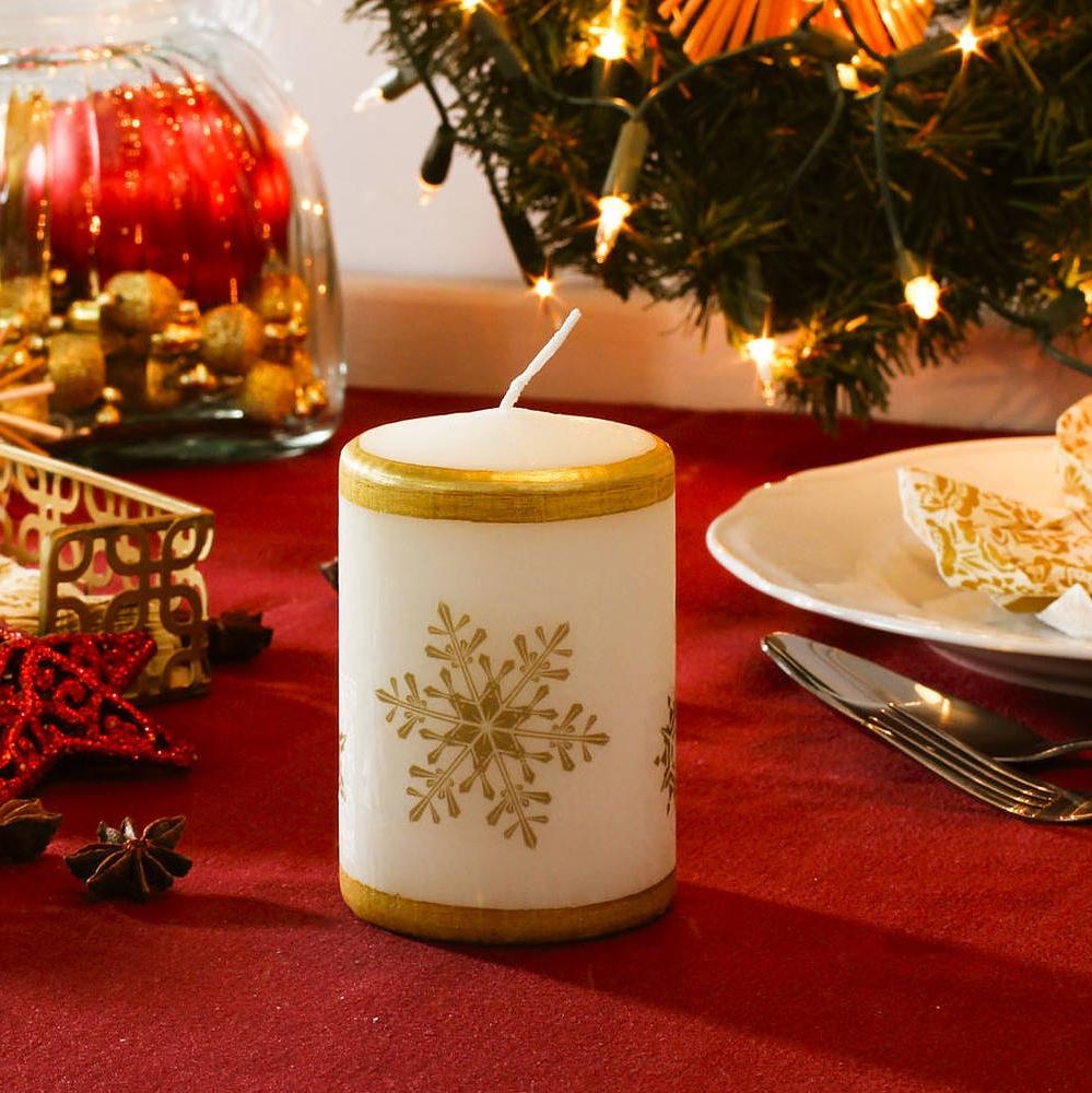 Świeca świąteczna na stół