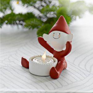 Świecznik ceramiczny Led Sirius Elf