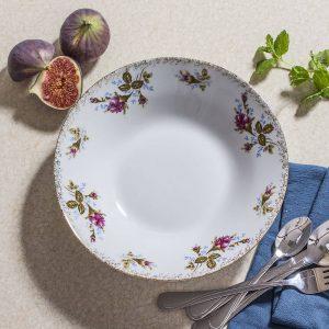 Talerz obiadowy głęboki porcelanowy Ceramika Tułowice