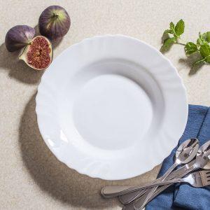 Talerz obiadowy na zupę Bormioli Rocco Ebro