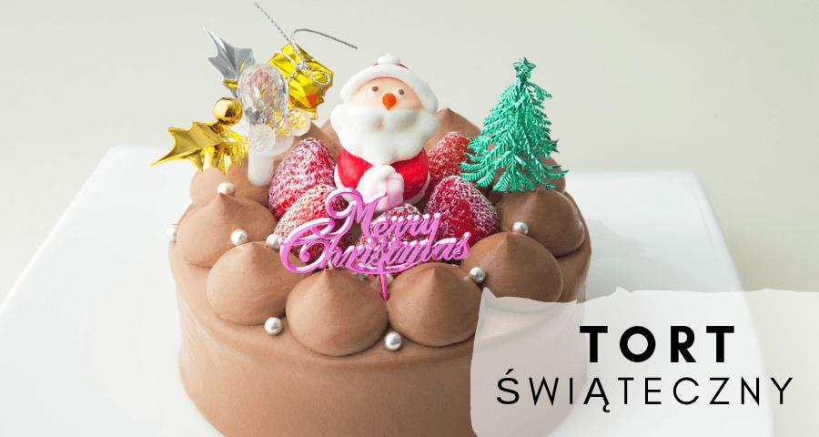 Tort świąteczny na Boże Narudzenie