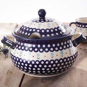 Waza do zupy ceramiczna Bolesawiec