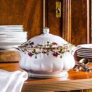 Waza do zupy porcelanowa Chodzież