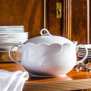 Waza do zupy porcelanowa Porcelana Krzysztof