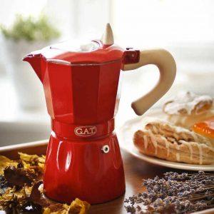 Włoska kawiarka ciśnieniowa Gat Rossana