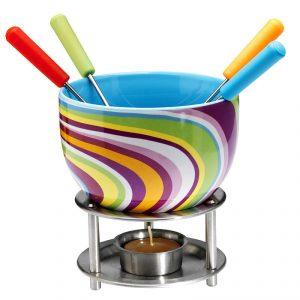 Zestaw do fondue ceramiczny Mastrad