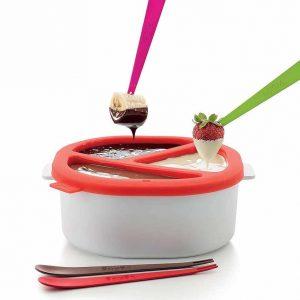 Zestaw do fondue do kuchenki mikrofalowej Lekue