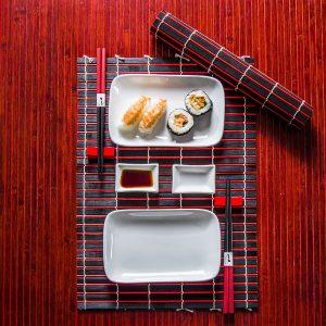 Zestaw do sushi ceramiczny Fiskur