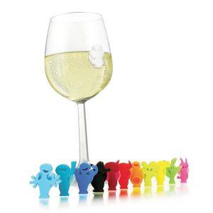 Znaczniki do szklanek i kieliszków Vacu Vin
