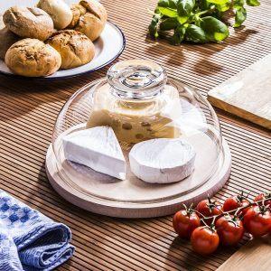 Deska do serwowania serów i przekąsek z kloszek Edwanex