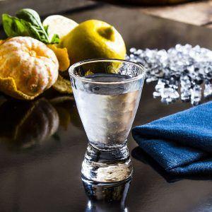 Kieliszek do wódki szklany Bolero