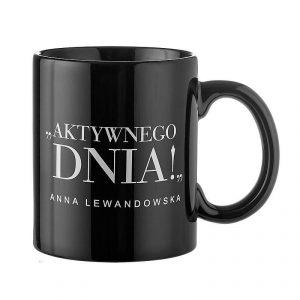 Kubek ceramiczny z napisem HBPA Anna Lewandowska