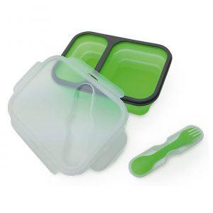 Lunch box silikonowy dwukomorowy Camry