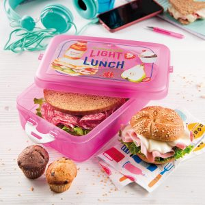 Pudełko na lunch plastikowe Snpis