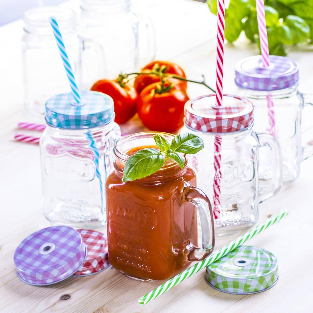 Słoiki do koktajli i smoothie drink jar