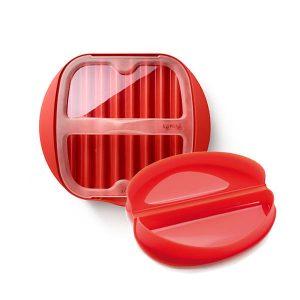 Zestaw śniadaniowy do omletu i boczku Lekue