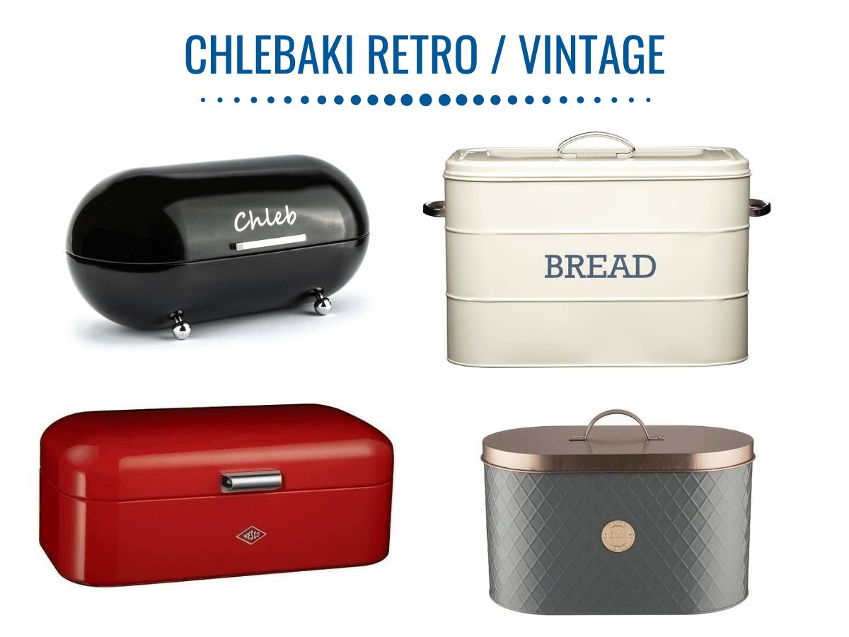 Chlebaki w stylu retro i vintage