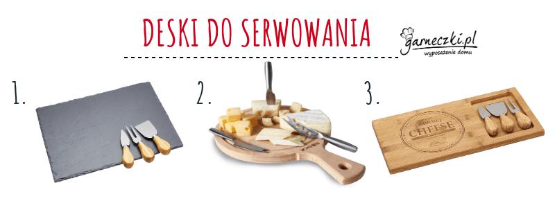 Deski do serwowania serów