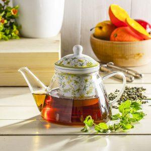 Dzbanek do herbaty i kawy z zaparzaczem Duo Zioła