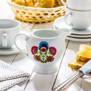Dzbanek do mleka ceramiczny Ceramika Tułowice