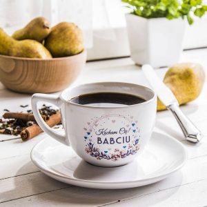 Filiżanka do kawy i herbaty ceramiczna dla babci