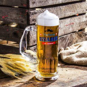 Kufel do piwa szklany Najlepszy Dziadek na świecie