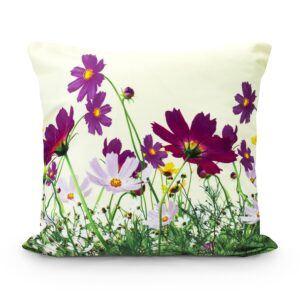 Poszewka na poduszkę ozdobna Flowers