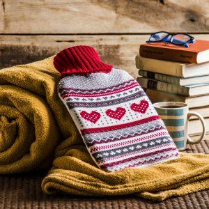 Termofor gumowy w sweterku Sweetheart