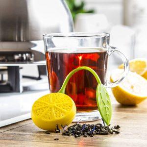 Zaparzacz do herbaty silikonowy Kinghoff Cytryna