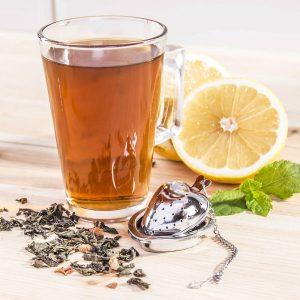 Zaparzacz do herbaty stalowy serce