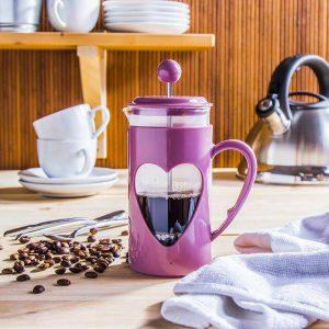Zaparzacz tłokowy do kawy Lovely fioletowy