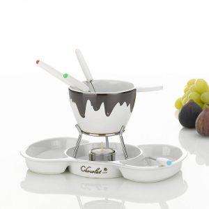 Zestaw do fondue ceramiczny Kela Blob