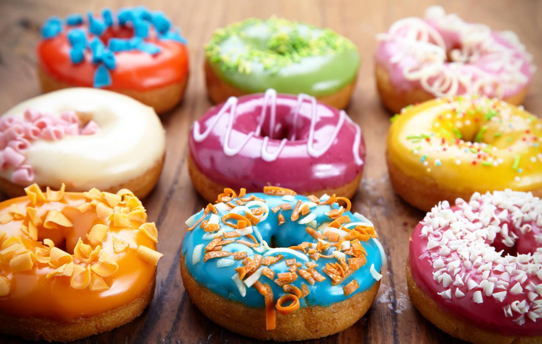 amerykanskie donuty - Quiz na Tłusty Czwartek: Co wiesz o pączkach?