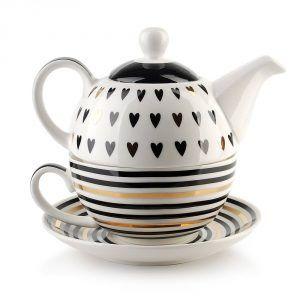 Dzbanek do herbaty z filiżanką Affek Design Lola