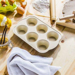 Forma do pieczenia muffinek aluminiowa z powłoką ceramiczną Florina