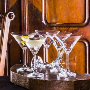 Komplet kieliszków do martini Krosno