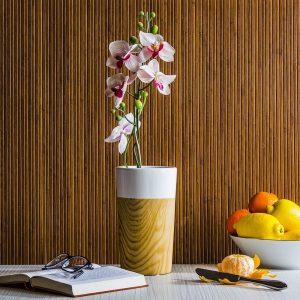 Wazon na kwiaty porcelanowy Wood