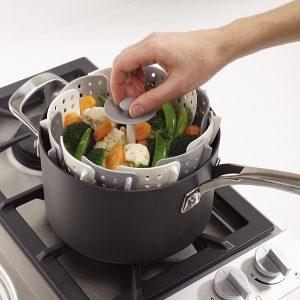 Wkład silikonowy do gotowania na parze Joseph Joseph