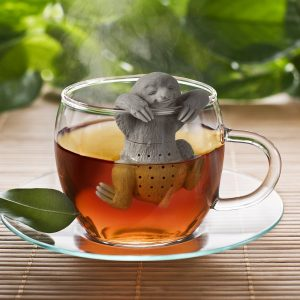 Zaparzacz do herbaty silikonowy Leniwiec